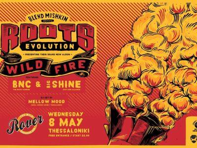 Blend Mishkin & Roots Evolution live at Rover Bar