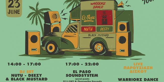 Warriorz Dance, El Paso Soundsystem, Nutu, Black Mustard & Deezy