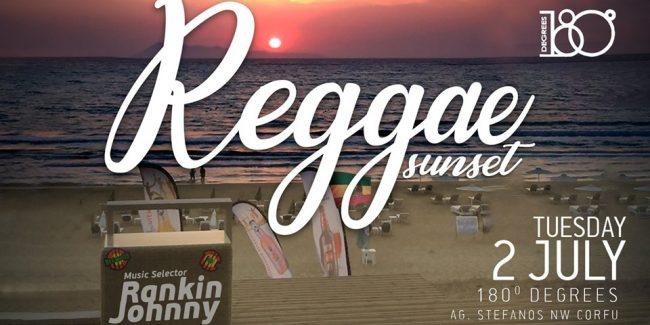 Reggae Sunset 2/7 Selector Rankin Johnny 180 Degrees
