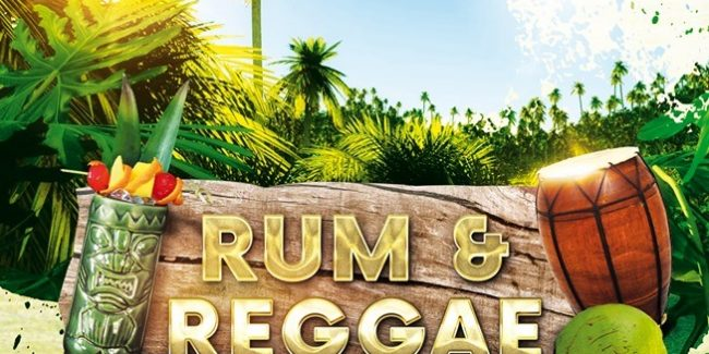 Rum & Reggae Sat 6/7 Selector Rankin Johnny Barden Acharavi CFU