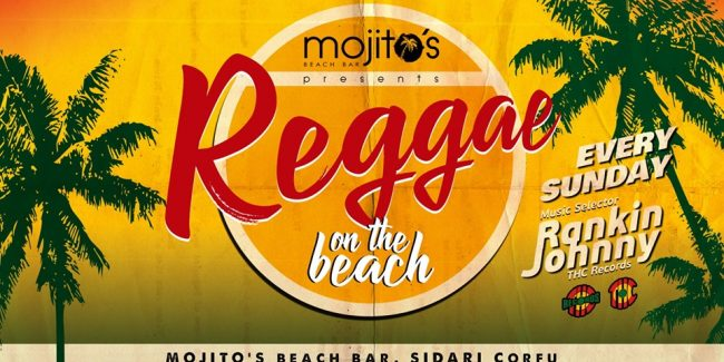 Reggae on the beach Every Sunday Selector Rankin Johnny