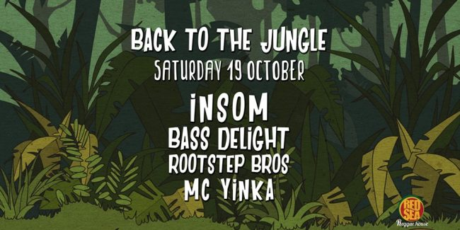 Back to the Jungle - Sat 19 Oct - Red Sea